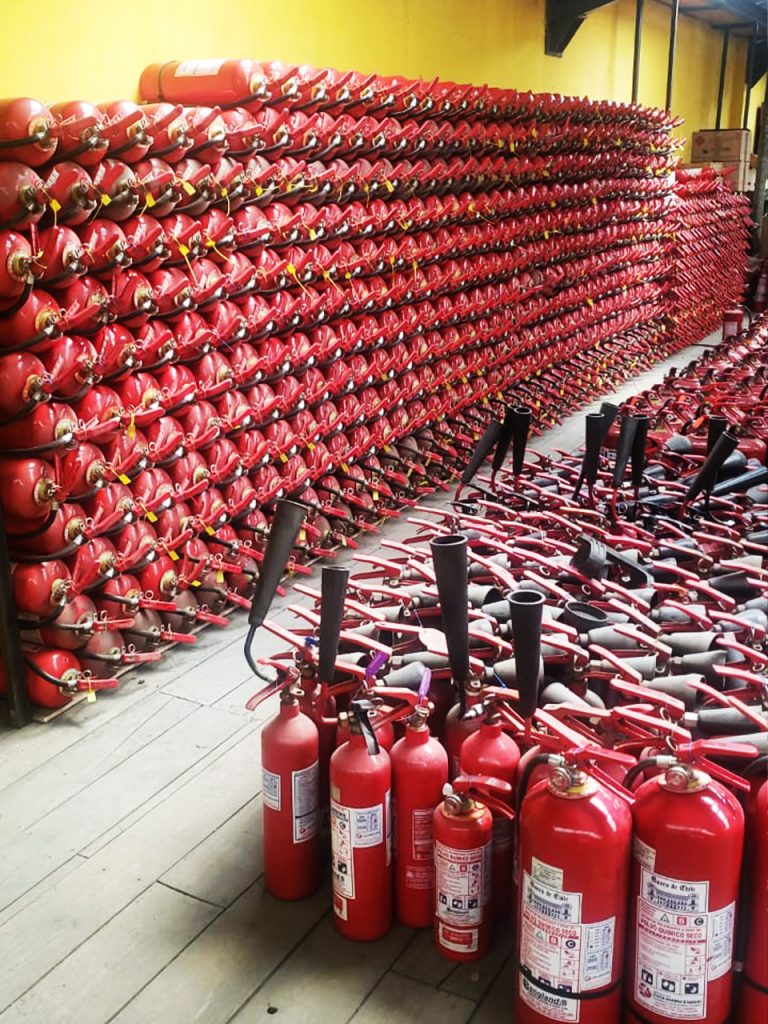 extintores reciclaje